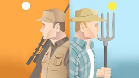 Hunters and Farmers