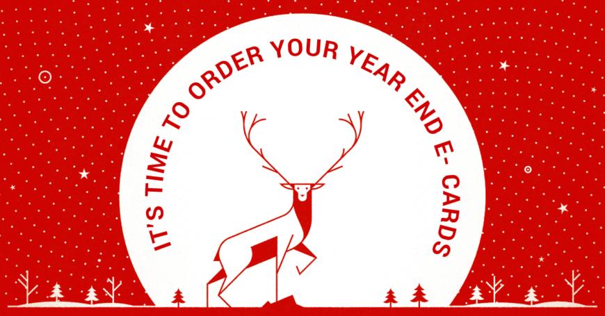 year end e-card