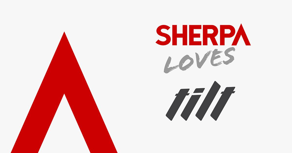 Sherpa loves Tilt