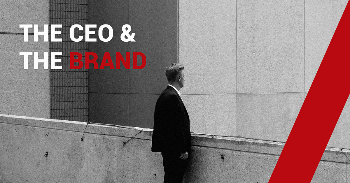 The CEO & the brand